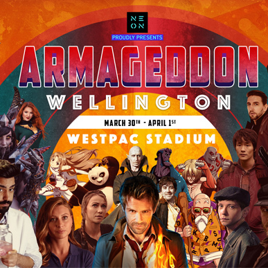 NEW ADDITIONS TO ARMAGEDDON CELEBRITY LINEUP SET TO DAZZLE WELLINGTON FANS