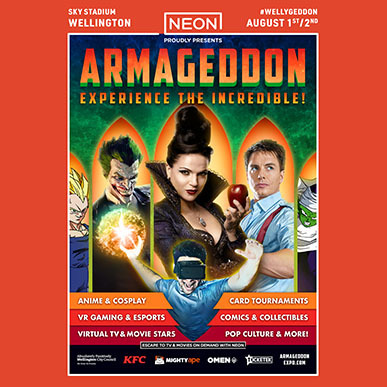 WELLINGTON ARMAGEDDON 2020!