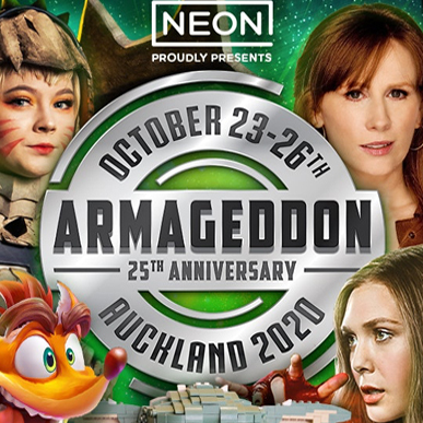 Armageddon Auckland is coming!